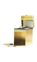 D FLITE 100 STD GOLD TACK BOX