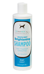 Groomer Essentials White Mint Brightening Shampoo 16 oz.