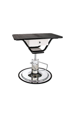 PetLift Classic Hydraulic Grooming Table with Rectangular Rotating Top