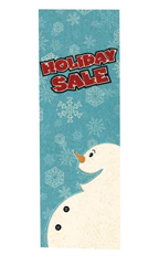 2'W x 6'L Holiday Sale Banner