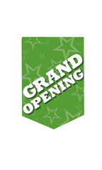 Grand Opening Pennant