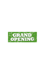 Small Grand Opening Banner