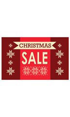 Medium Christmas Sale Sign Card