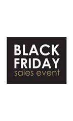 Small Black Friday Sales Event Sign Card