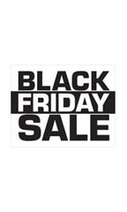 Small Black Friday Sale Sign Card