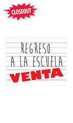 Small Regreso a la Escuela Venta Sign Card