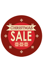 Circle Christmas Sale - Sign Cards