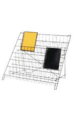 6-Tier Black Wire Countertop Rack