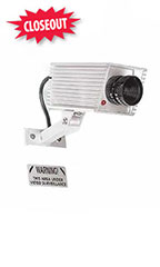 Mini Simulated Video Surveillance Camera With Red LED