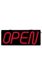 Horizontal LED Neon Open Sign
