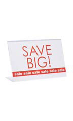 11 x7 inch Single Sided Acrylic Sign Holder