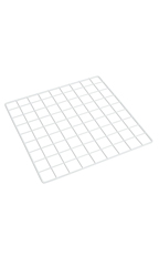 14 x 14 inch Mini White Wire Grid Panel