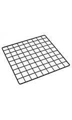 14 x 14 inch Mini Black Wire Grid Panel