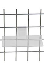 4 x 10 inch Clear Acrylic Shelf for Wire Grid