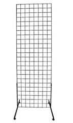 2' X 6' Black Wire Grid Stand