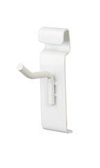 2 inch White Peg Hook for Wire Grid