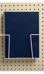 2-Piece Expandable Literature Display for Pegboard