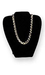 Black Velvet Necklace Display Easel - Case of 50