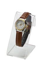 Acrylic  Clear Watch Display Easel - Case of 100
