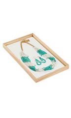 15 x 8 ½ x 1 inch Natural Wood Jewelry Tray