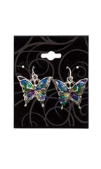 Black Swirl Earring Cards - Case of 250