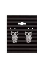 Black Stripes Earring Cards - Case of 250