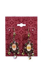 Exotic Brick Earring Card - Case of 250