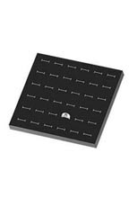 36 Slot Black Foam Ring Inserts
