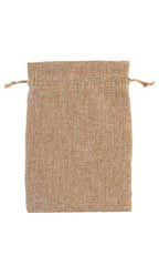 Large Linen Drawstring Pouches - Case of 50
