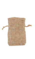 2 x 3 inch Linen Drawstring Pouches