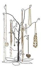 Large Wire Jewelry Tree