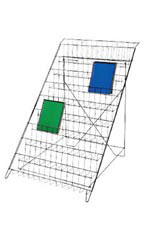 Black Floor Standing Wire Rack