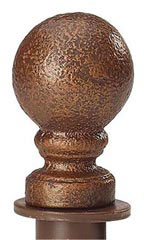 Boutique Cobblestone Ball Round Fitting Finial