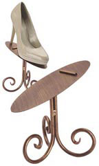 Boutique Cobblestone 6 inch Shoe Display Stand