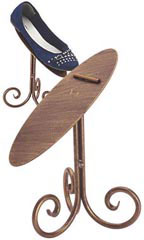 Boutique Cobblestone 8 inch Shoe Display Stand