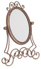 Boutique Cobblestone Countertop Mirror - Case of 2