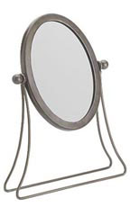 Boutique Raw Steel Countertop Mirror - Case of 2