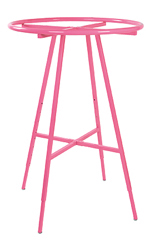 Hot Pink Round Clothing Rack