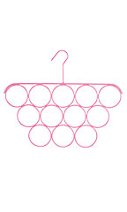 Hot Pink Scarf Hanger - Case of 3