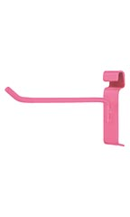 6 inch Hot Pink Peg Hook for Wire Grid