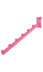 Hot Pink 6-Ball Waterfall for Wire Grid