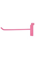 10 inch Hot Pink Slatwall Hook