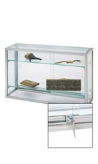 Upright Glass Countertop Display Case