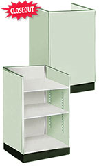 Seafoam Green Metal Framed Well Top Register Stand