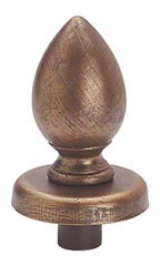 Boutique Cobblestone Tear Drop Finial for Dressmaker Forms