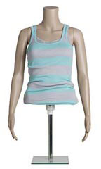 Female Plastic ½ Body Mannequin