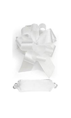 "White Pulls Bows - 5 1/2""- 50 Pack"