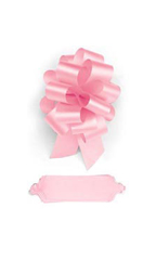 "Pink Pull Bows - 5 1/2""W - Case of 50"