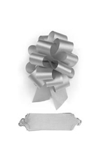 "Shell Gray Pull Bows - 5 1/2""W - Case of 50"