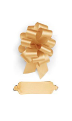 "Gold Pull Bows - 5 1/2"" - Case of 50"